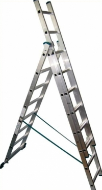 Трехсекционная лестница 3х8