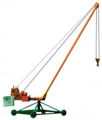 Кран Пионер, г/п 0,5 т (разборная стрела)