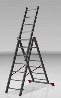 Трехсекционная лестница 3х6