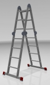 Лестница трансформер 2х3+2х4